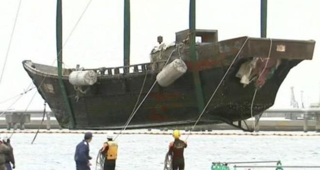 """Bí ẩn về những con """"tàu ma"""" Triều Tiên trôi dạt vào Nhật Bản"""