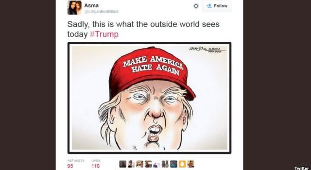 Người Hồi giáo khắp thế giới lên án đề xuất của Donald Trump