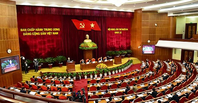 Đề cử nhân sự Bộ Chính trị, Ban Bí thư