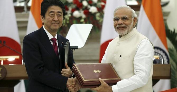 """Trung Quốc """"nổi đóa"""" vì tuyên bố Ấn-Nhật về Biển Đông"""