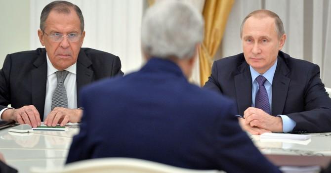 Tổng thống Nga Putin khuyên ông Kerry đi ngủ!