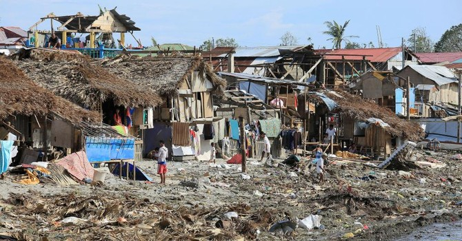 Bão quét qua Philippines, 45 người thiệt mạng