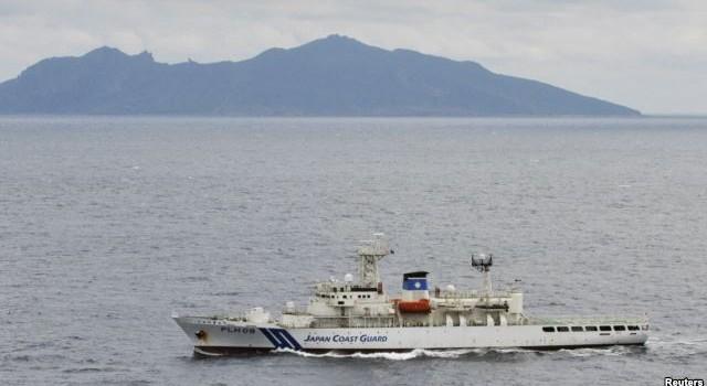 Nhật Bản: Chiến hạm Trung Quốc đến gần quần đảo có tranh chấp