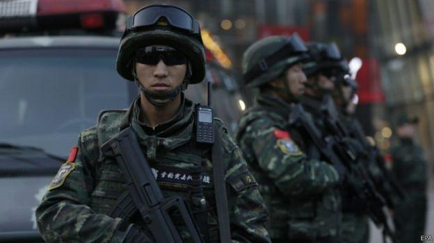 Báo động an ninh ở Bắc Kinh dịp Giáng sinh