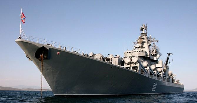 Tàu Nga tập trận phòng không ở Ấn Độ Dương