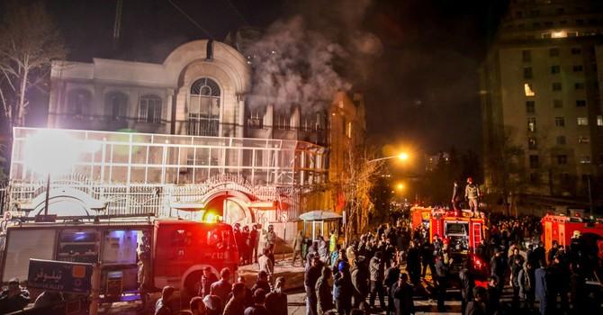 40 người bị bắt giữ sau cuộc tấn công vào đại sứ quán Saudi Arabia ở Iran