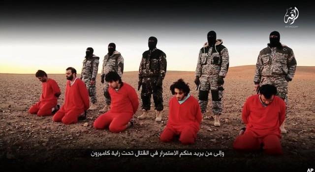 IS tuyên bố hành quyết 5 người bị cho là gián điệp của Anh