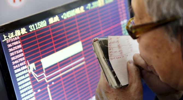 Chứng khoán Châu Âu, Châu Á đổ sụp theo thị trường Trung Quốc