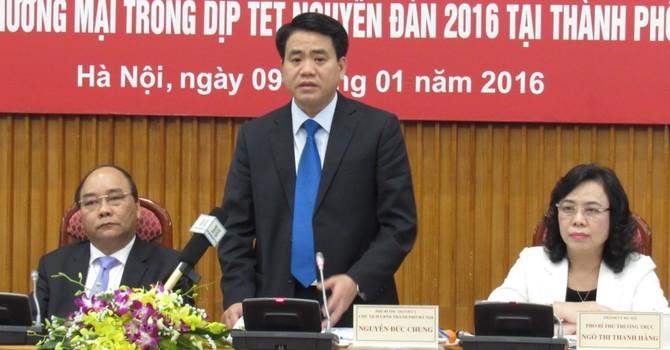 Chủ tịch Hà Nội: Siêu thị phải mở cửa tối 30, sáng mùng 1 Tết