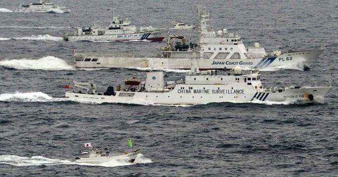 Nhật sẵn sàng dùng Hải quân đuổi tàu Trung Quốc vi phạm lãnh hải