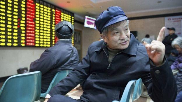"""Chứng khoán Trung Quốc và """"cuộc chơi"""" của nhà buôn có tuổi"""