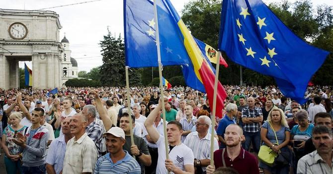 Moldova: Phong trào chống tham nhũng muốn lật đổ chính phủ