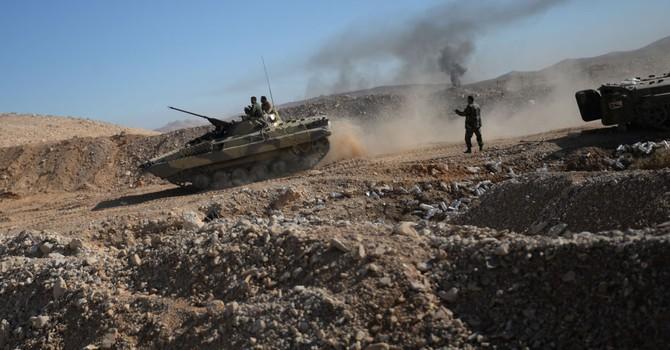 Quân đội Syria đánh đuổi IS để chiếm thành phố chiến lược ở phía nam