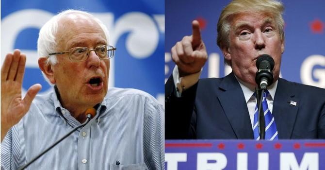 """Bầu cử ở Mỹ: Khi các ứng viên """"phản hệ thống"""" hâm nóng cuộc bầu cử sơ bộ"""