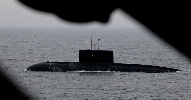 Tàu ngầm Kilo mới nhất của Hải quân Việt Nam đã cập cảng Cam Ranh