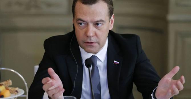 Ông Medvedev: Trừng phạt kinh tế Nga không dẫn đến kết quả chính trị