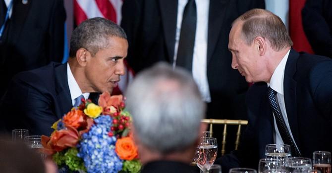 Tổng thống Nga Putin bất ngờ điện đàm với ông Obama về tình hình Syria, Ukraine
