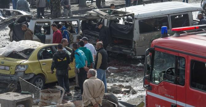 Tấn công khủng bố đẫm máu ở thành phố Homs của Syria