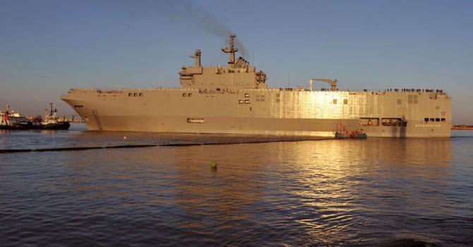 Thiết bị điện tử từ Mistral đã được chuyển giao cho Hải quân Nga