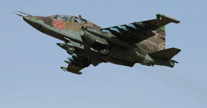 Nga điều cường kích cơ Su-25SM tập trận qui mô lớn ở Tajikistan