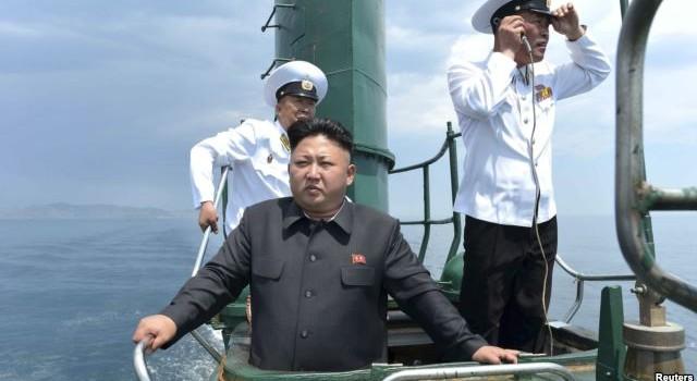 """Tàu ngầm của Triều Tiên """"mất tích"""""""