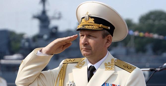 Tư lệnh Hải quân Nga bất ngờ nộp đơn từ chức