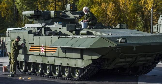 """Xe tăng Nga lại làm phương Tây """"mất ngủ"""""""