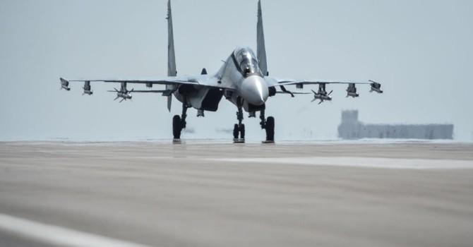 Thêm tốp máy bay quân sự Nga rời căn cứ ở Syria