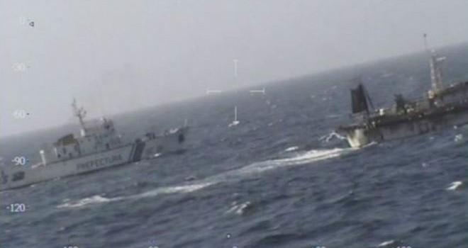 Tàu cá Trung Quốc bị bắn chìm