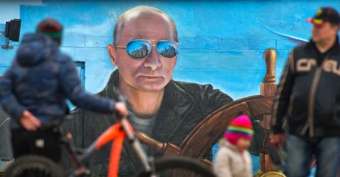 Ông Putin bất ngờ đến bán đảo Crimea