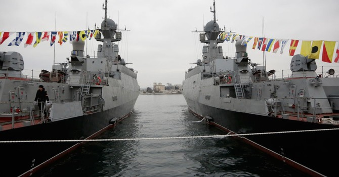 Crimea trở thành tiền đồn của quân đội Nga ở Biển Đen