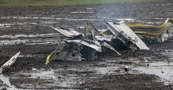 Các hộp đen máy bay Boeing bị rơi ở Rostov được chuyển đến Moscow