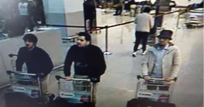 Công bố hình ảnh ba nghi phạm gây ra các vụ nổ ở Brussels