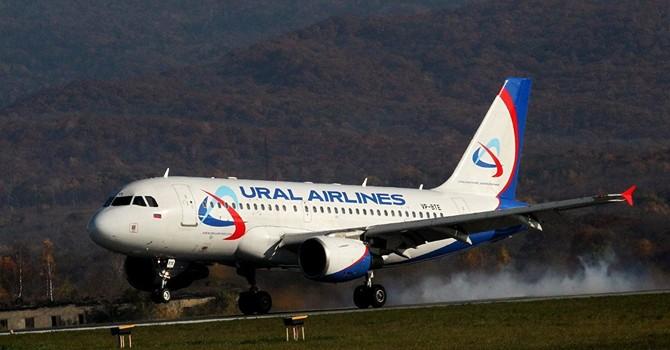 Nga đã cho phép hãng hàng không Ural Airlines bay đến Thổ Nhĩ Kỳ