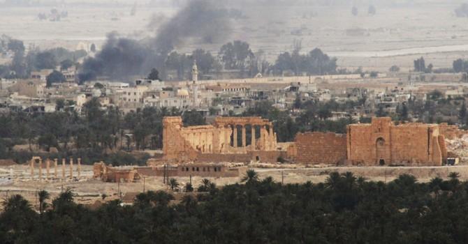 Đập tan IS, quân đội Syria giải phóng toàn bộ thành phố Palmyra