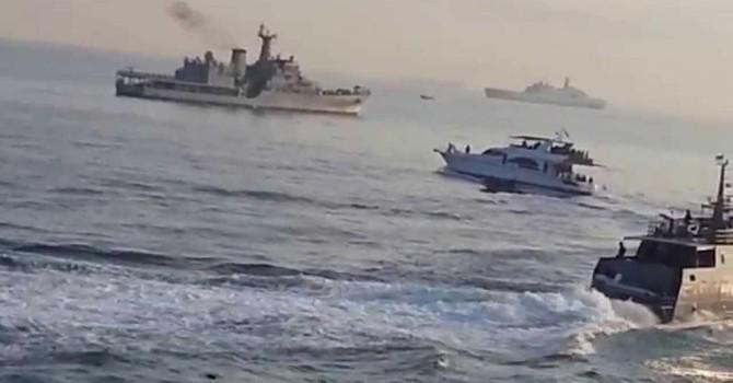 Tàu Trung Quốc đến Biển Đông tập trận