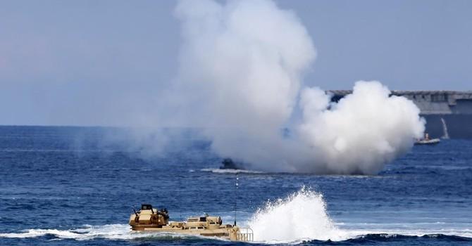 Biển Đông : Mỹ - Philippines tập trận, sẵn sàng đối đầu với Trung Quốc