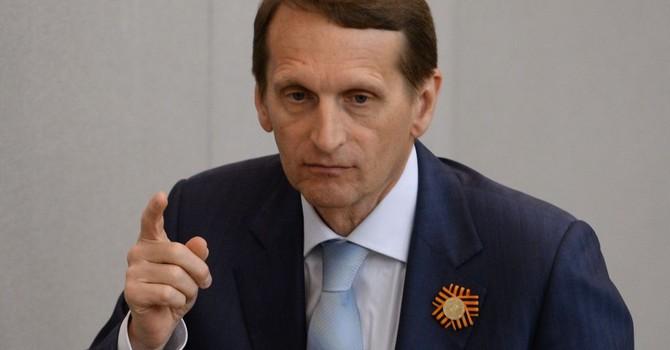 """Chủ tịch Duma Nga: """"Ai mang gươm đến với ta, kẻ đó sẽ chết vì gươm giáo"""""""
