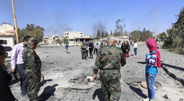 Quân đội Syria chiếm thành phố Qaryatain từ tay IS