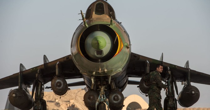 IS bắn rơi tiêm kích của Không quân Syria