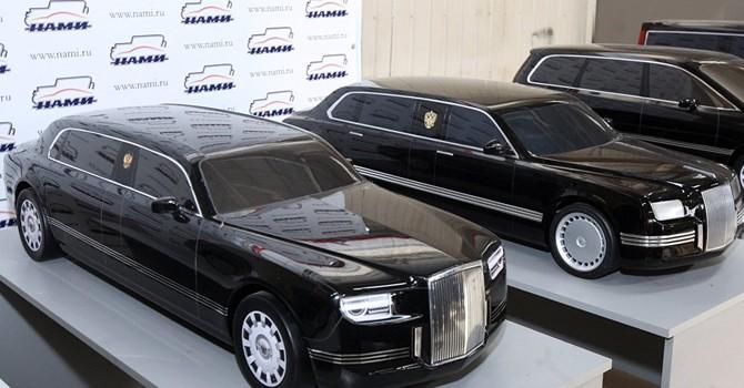 """Nga sẽ """"thửa"""" riêng cho ông Putin xe Limousine"""