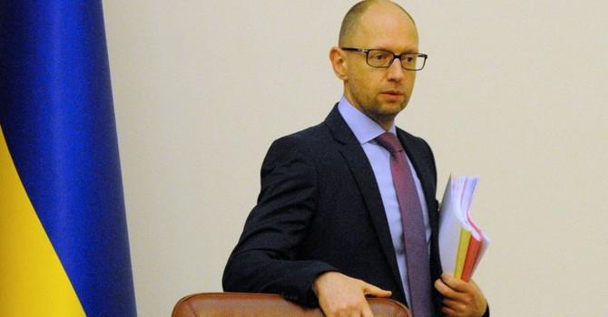 Thủ tướng Ukraine Arseniy Yatsenyuk đã từ chức