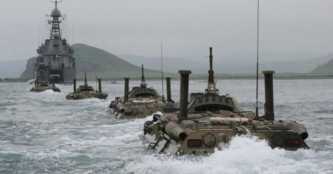 Báo Nga: Hải quân Nga tập trận trong vùng biển Nhật Bản
