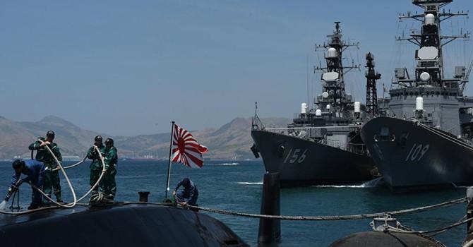 """Tàu chiến Nhật đến Cam Ranh: Báo Nhật gọi là """"chuyến thăm lịch sử"""""""