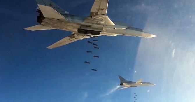 Các phi công Nga thử nghiệm bom chống tăng độc đáo tại Syria
