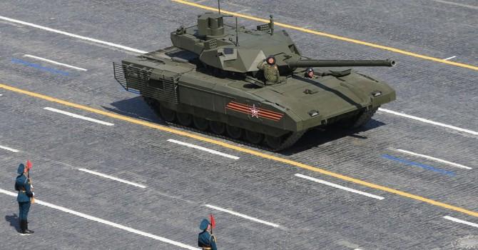 Bộ Quốc phòng Nga sẽ mua 100 xe tăng Armata