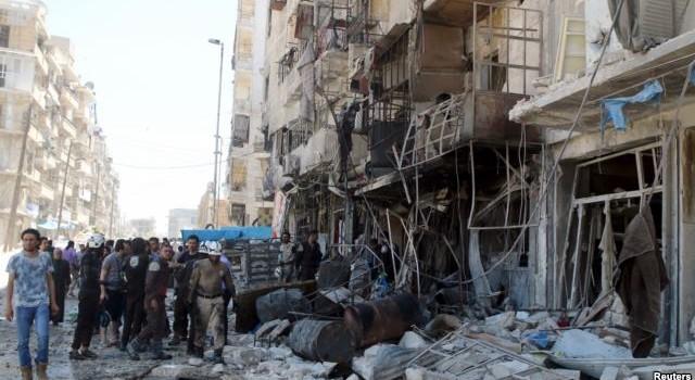 """""""Không kích của chính phủ Syria giết chết 23 người"""""""