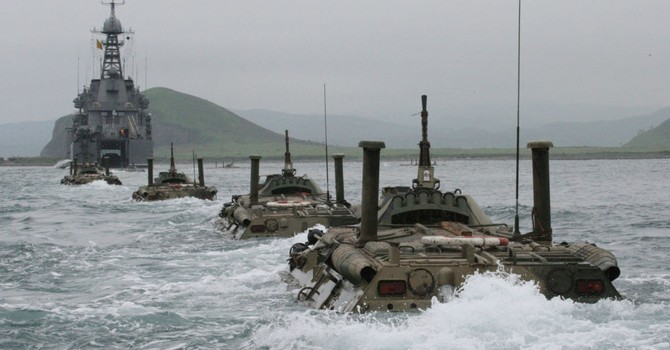 """Hải quân Nga giới thiệu vũ khí triển vọng tại Diễn đàn """"Army-2016"""""""