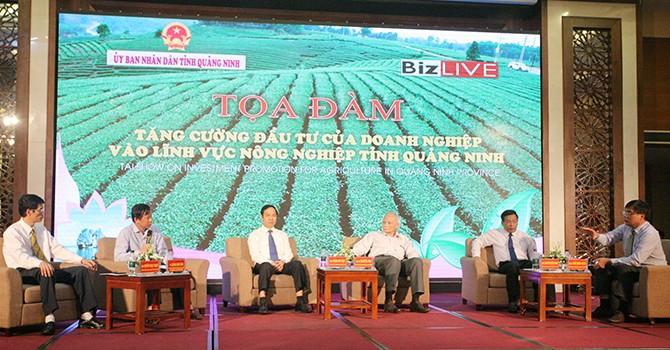 """""""Đầu tư vào nông nghiệp ở Quảng Ninh có hiệu quả hơn các tỉnh khác"""""""