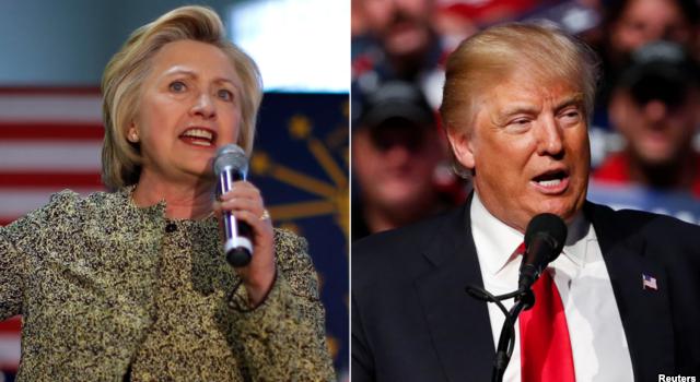 Những khác biệt nổi bật trong cương lĩnh tranh cử giữa ông Trump và bà Clinton